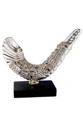 Shofar With Jerusalem Design