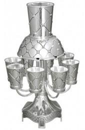 Criss Cross Kiddush Fountain Set