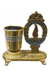 Electric Memorial Yahrzeit Lamp