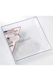Square Acrylic Matzah Tray