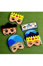 Purim Masks - Set of 3