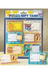 3D Self Adhesive Purim Gift Tags