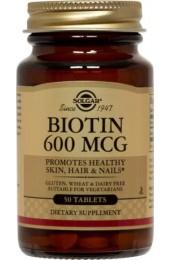 Biotin 600 mcg Tablets  (100)
