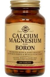 Calcium Magnesium Plus Boron Tablets (100)