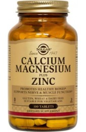 Calcium Magnesium Plus Zinc Tablets  (100)