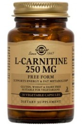 L-Carnitine 250 mg Vegetable Capsules  (30)