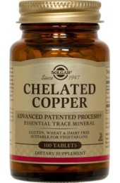 Chelated Copper Tablets**  (100)
