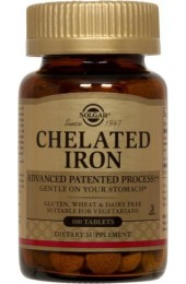 Chelated Iron Tablets**  (100)