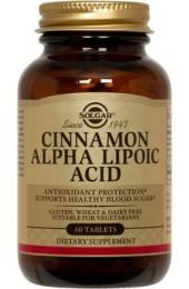 Cinnamon Alpha Lipoic Acid Tablets (60)
