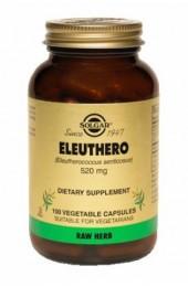 Eleuthero 520 mg Vegetable Capsules (100)