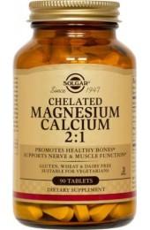 Chelated Magnesium Calcium 2:1 Tablets  (90)