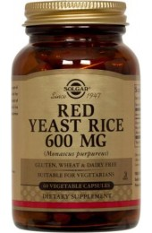 Red Yeast Rice Vegetable Capsules  (120)