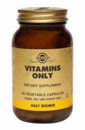 Vitamins Only Vegetable Capsules  (60)