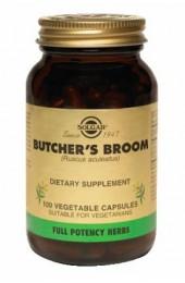 FP Butcher's Broom Vegetable Capsules (100)