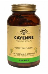 Cayenne Vegetable Capsules (100)