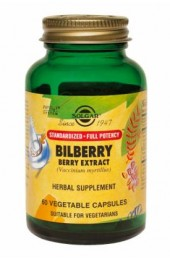 SFP Bilberry Berry Extract Vegetable Capsules (60)