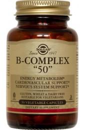 """B-Complex """"50"""" Vegetable Capsules (100)"""