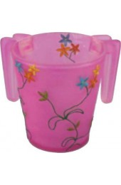 Pink Flowers Wash Cup