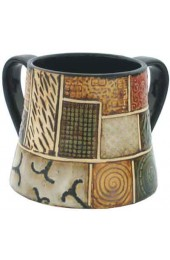 Ceramic-Mosaic Wash Cup