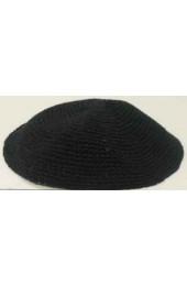 Black Knitted Kippah